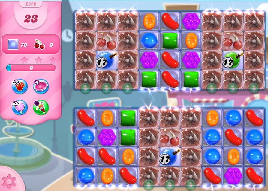Candy Crush Saga level 2970