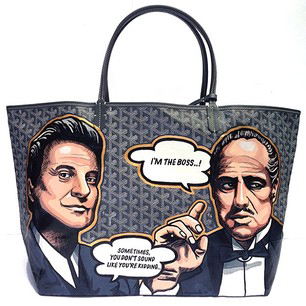 Boyard Marlon Brando The Godfather Goyard