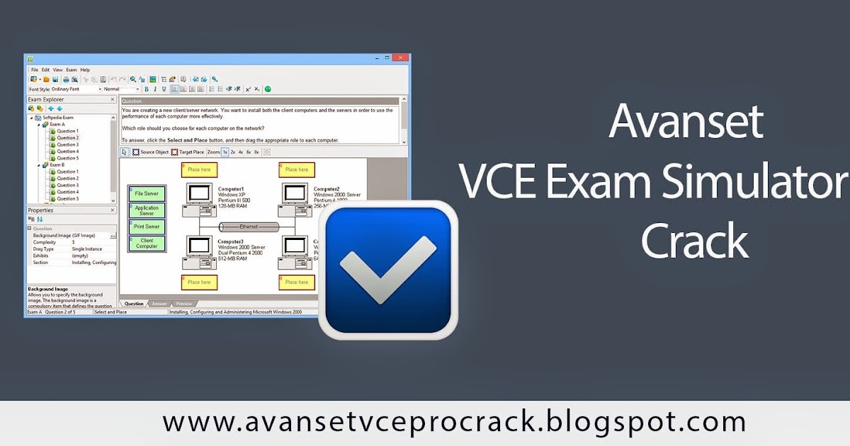 vce simulator free download with crack