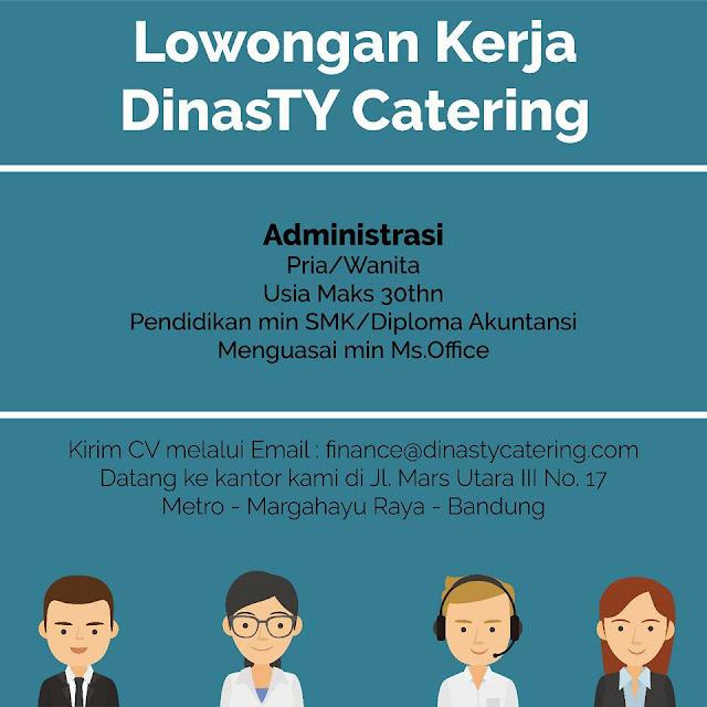 Lowongan Kerja Administrasi di Bandung