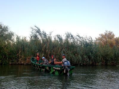 Wędkarze w Delcie Dunaju