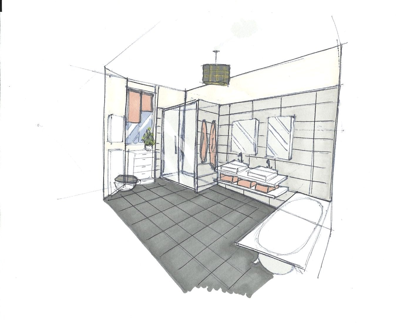 Adc l 39 atelier d 39 c t am nagement int rieur design d for Salle de bain home staging