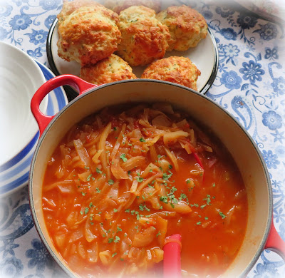 Cabbage & Tomato Soup