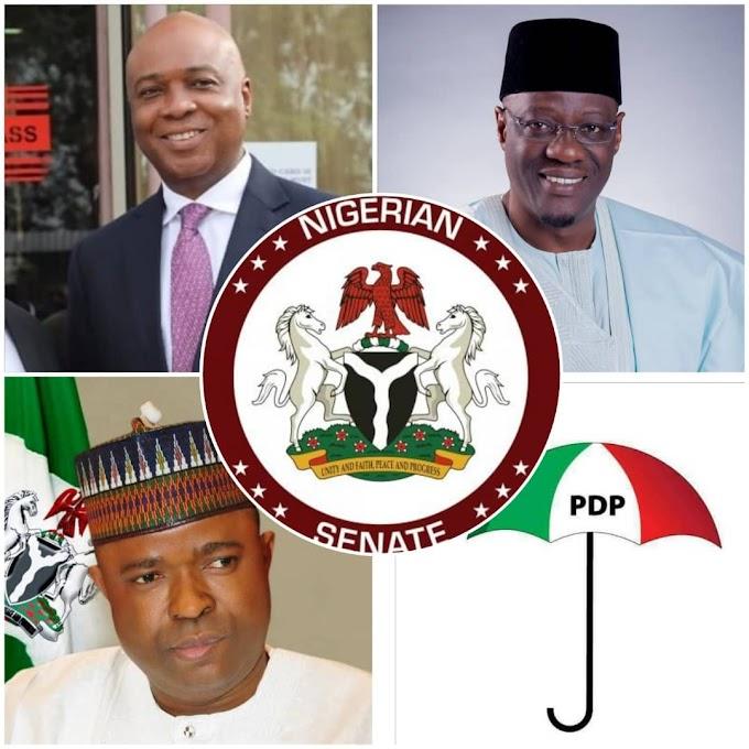 Ceding of Kwara South PDP senatorial ticket to Ibolo, Senator Rafiu thanks Saraki, Gov. Ahmed