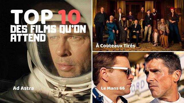 Notre sélection de films qui vont cartonner d'ici fin 2019