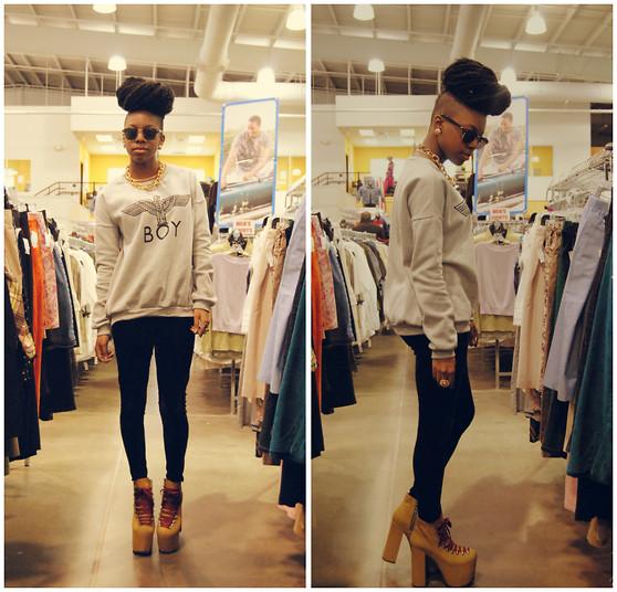 Black Girls Killing It Be: The Skinny Fashionista: Press