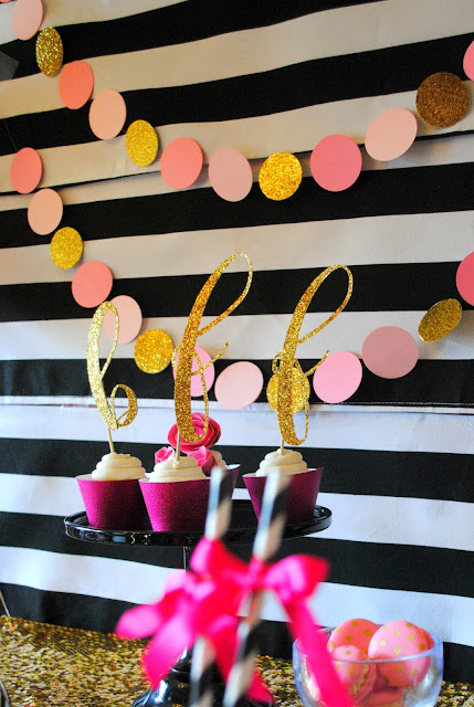 Throw a BFF Kate Spade inspired party. Inspiration can be found at FizzyParty.com