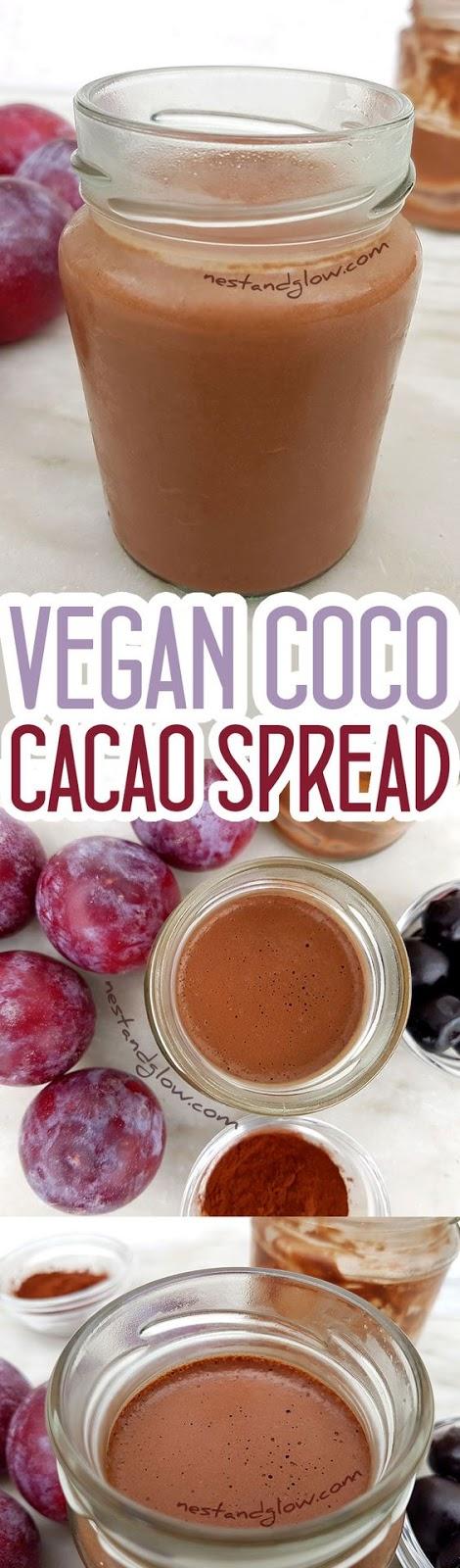 COCO CACAO CHOCOLATE SPREAD RECIPE