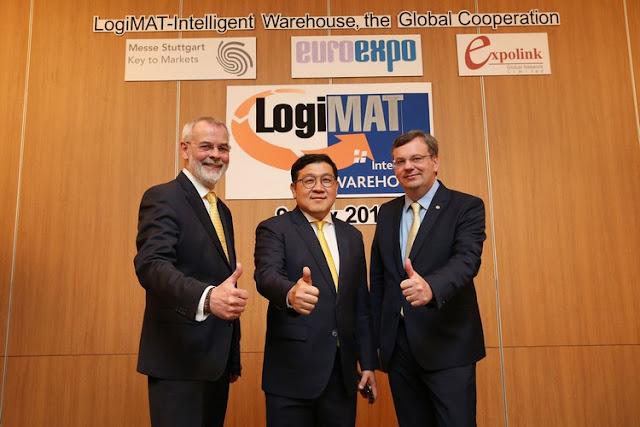 Logistics exhibition 'LogiMAT-Intelligent Warehouse' jointly