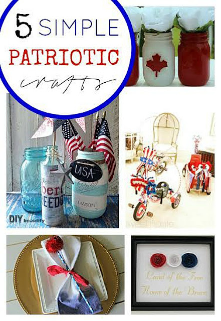 5 simple Patriotic crafts that you can make!