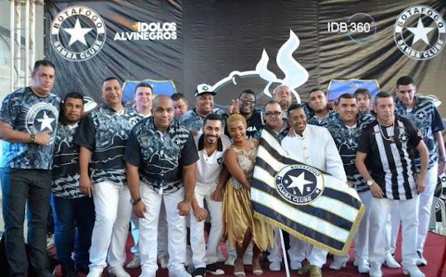 Botafogo Samba Clube abre temporada de ensaios na sexta