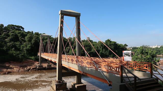 ponte Parque Natural Ilha da Usina