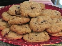 White Chocolate Cranberry Nut Cookies