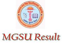 MGSU परिणाम  2018