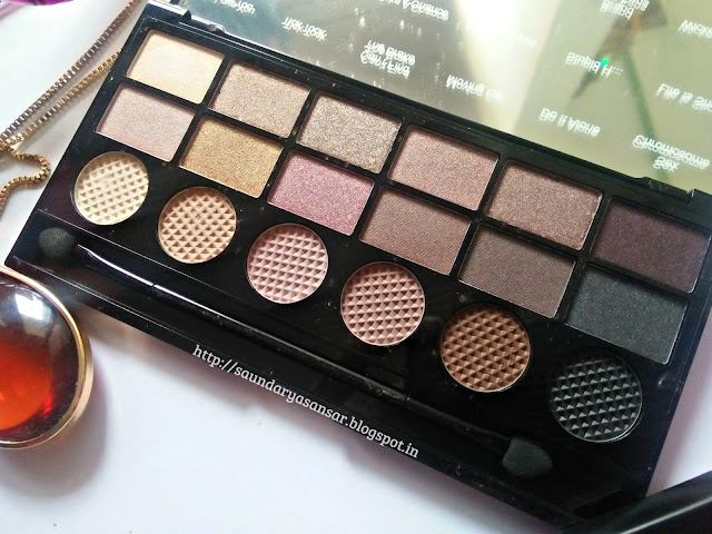 Makeup Revolution Eye Palette- What You Waiting For-Review, Swatches