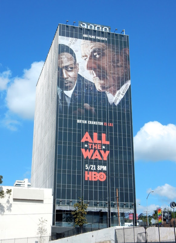Giant All The Way HBO film billboard