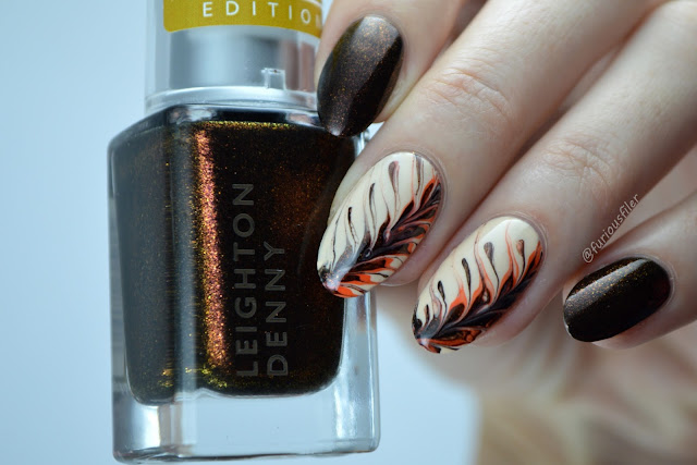 coffee drag marble nail art pumpkin latte furious filer