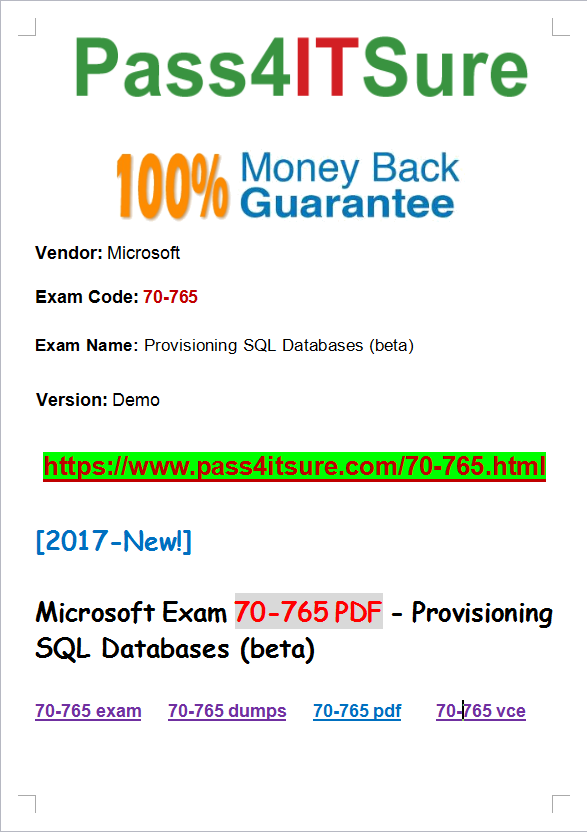 With vce 70-480 and exam pdf dumps