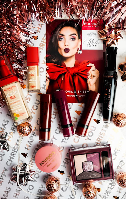 Bourjois Kissmass winter makeup look