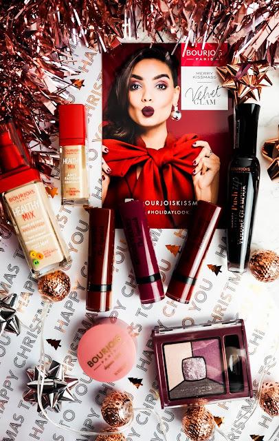 Bourjois Kissmass winter makeup look