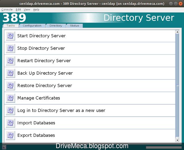En Task podemos realizar varias tareas de administracion