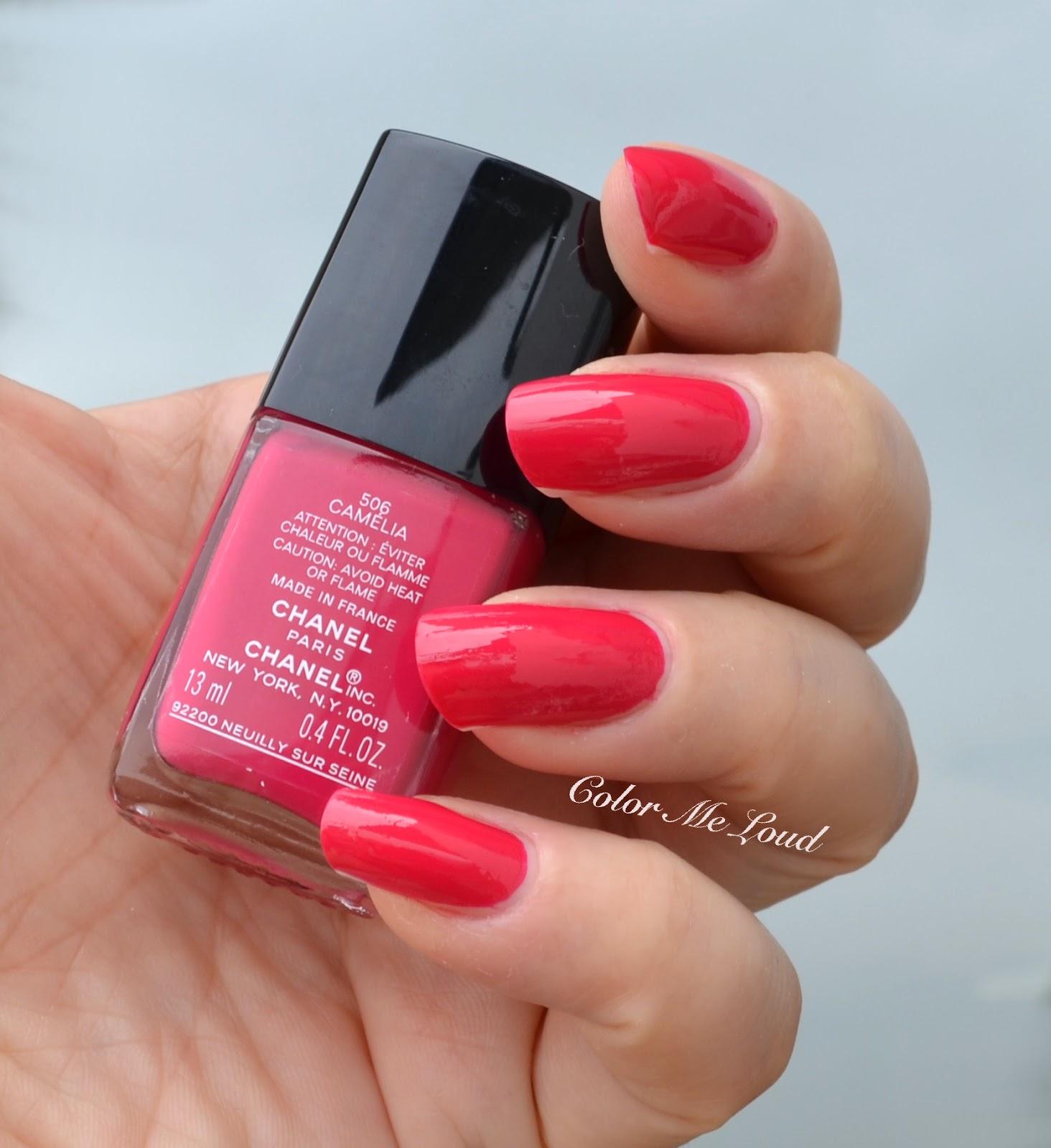 chanel le vernis long wear nail colour reds review swatch comparison color me loud. Black Bedroom Furniture Sets. Home Design Ideas