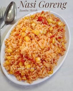 Resep Cara Membuat Nasi Goreng Bumbu Merah