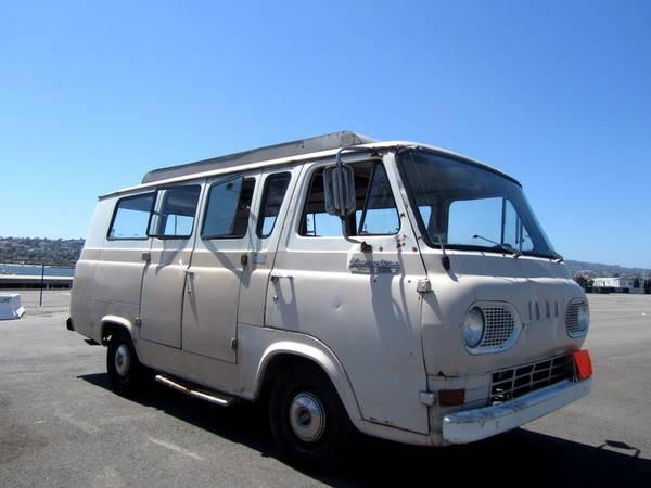 Used Rvs 1966 Ford Econoline Supervan Camper For Sale By Owner