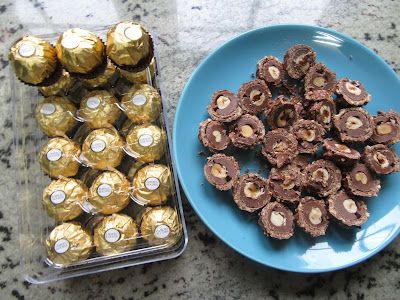 Tarta de Ferrero y nutella Thermomix