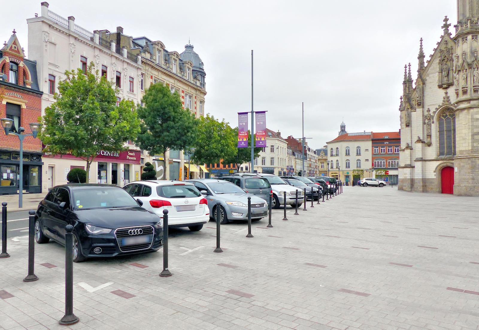 Stationnement Tourcoing Centre - Place de la République
