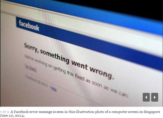 Astaga! Facebook Sempat Down di Beberapa Negara