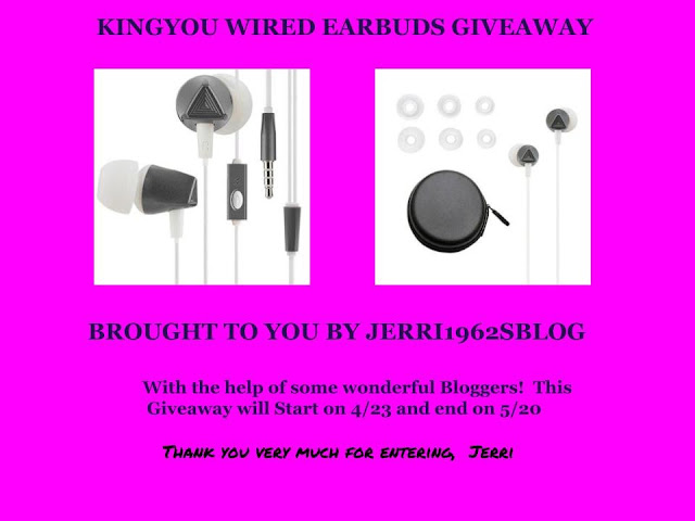 KingYou Wired Earbuds Giveaway