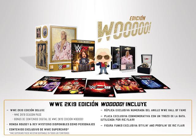 Se presenta espectacula edición woooo! de WWE 2K19