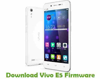 Firmware Vivo E5