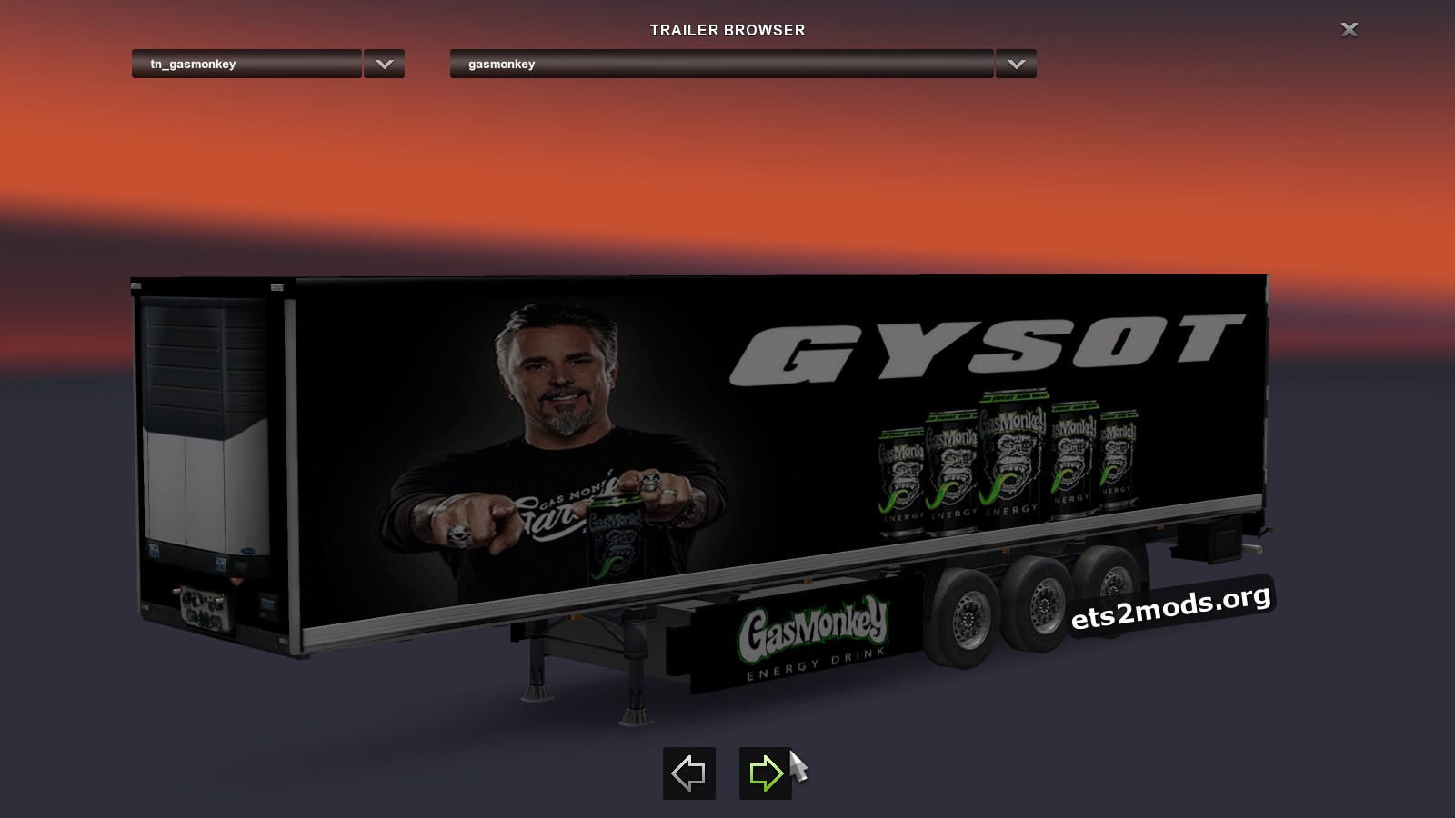 Trailer Gas Monkeys