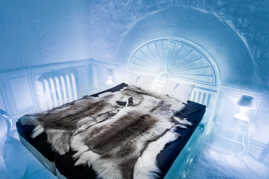 Icehotel 365 - Deluxe Suite - The victorian apartment