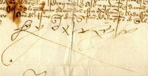 Fernando II de Aragón, firma