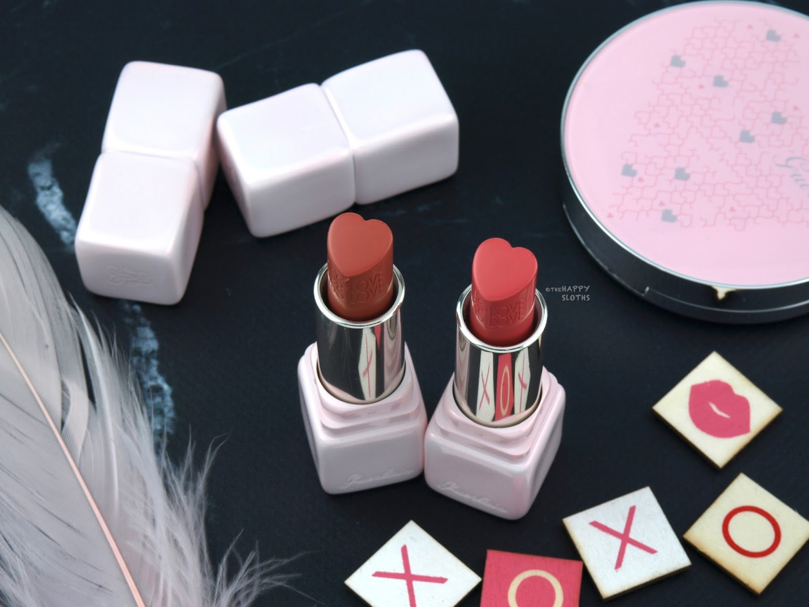 Guerlain Spring 2018 Collection | KissKiss LoveLove Heart-Shaped Lipstick: Review and Swatches