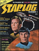 cover of the first Starlog magazine