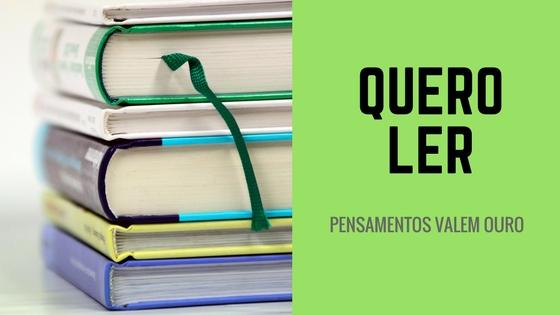 Quero Ler!!!
