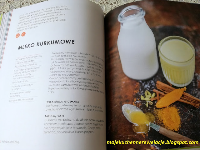 mleko kurkumowe