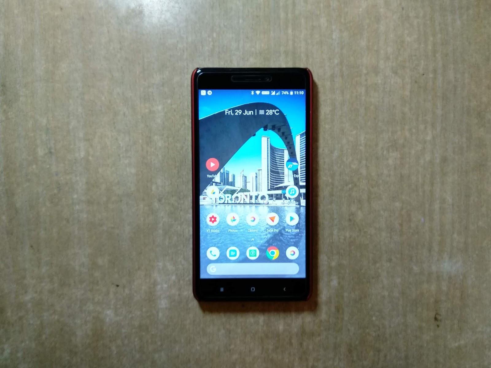 Android 8 1 Oreo Dot OS 2 3 1 For Xiaomi Redmi Note 4 (Mido