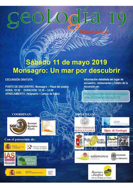 Juzbado, Museo de la Falla, geolodía Salamanca 2019