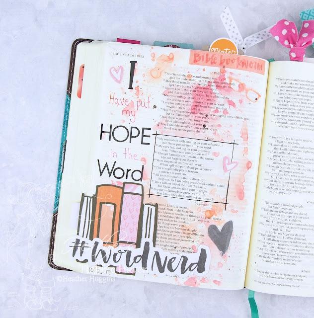 Heather's Hobbie Haven - Illustrated Faith - Word Nerd - Week 4