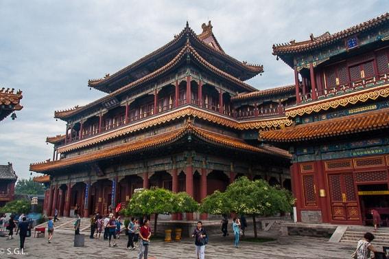 Templo de Lamas. Beijing. Recorrido de 17 dias por China