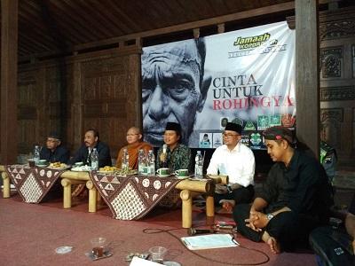 Doa dan Pesan Damai untuk Rohingya dari Lintas Iman Magelang Raya