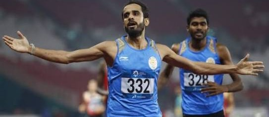 Asian Games 2018: India's Manjit Singh Clinches Gold, Jinson Johnson gets Silver in Men's 800m Race