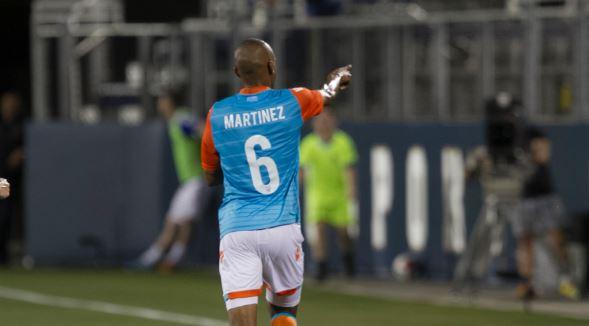 Ariel Martínez terminó como el segundo máximo goleador del equipo en la temporada 2016