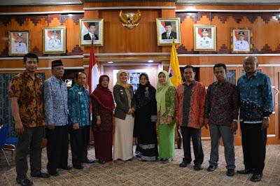 Rektor IAIN Metro Kunjungi Pemkab Lampung Timur