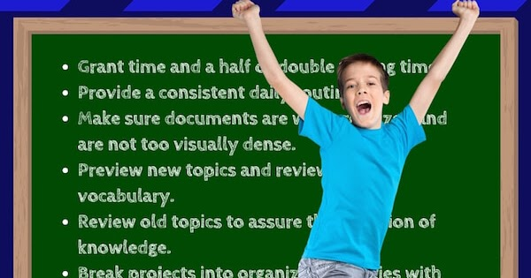 Examples Of Accommodations Modifications Smart Kids >> List Of Reasonable Accommodations And Modifications For Students